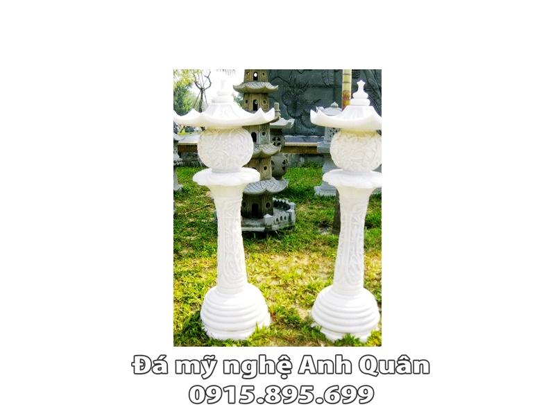 Mẫu đèn đá trang trí ĐẸP nhà Anh Luận ở Hà Tĩnh