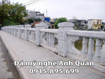Lan can đá ĐẸP nhà Anh Lê Cường ở Nam Định