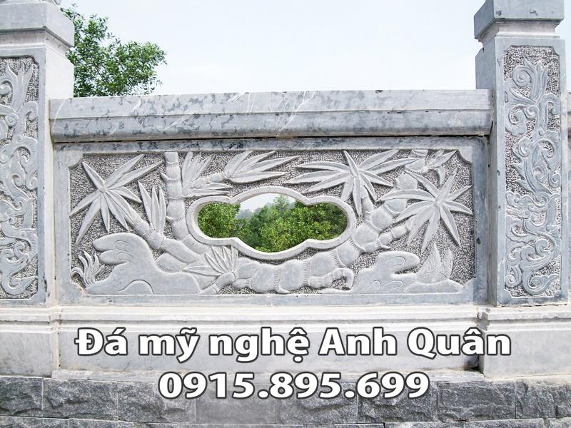 Lan can đá ĐẸP nhà Chú Doanh ở Vĩnh Long