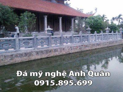 Lan can đá ĐẸP nhà Chú Tuấn ở Bắc Giang