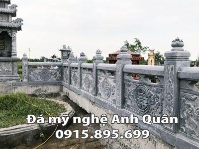 Lan can đá ĐẸP nhà Bác Phú ở Bình Phước