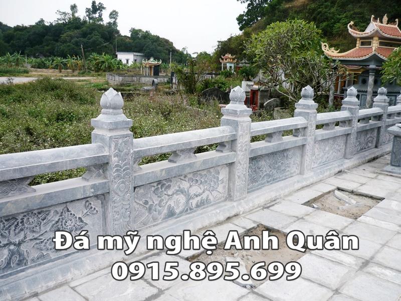 Lan can đá ĐẸP nhà Chú Tuế ở Quảng Nam