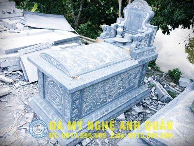 Mộ đá tam sơn không mái ĐẸP