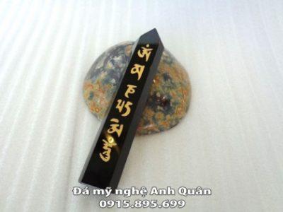 Trụ đá thạch anh đen (đá hắc ngà) FHM058-371