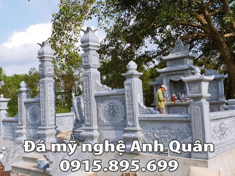 Lăng mộ đá Nguyễn tộc chi lăng mộ đẹp