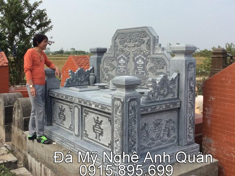 Mẫu mộ đá ĐẸP phổ biến hiện nay tại Đồng Nai