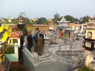 Mẫu mộ đá ĐẸP phổ biến hiện nay tại Lào Cai
